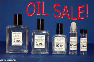 Pure Incense & Oils - FRAGRANCE OILS